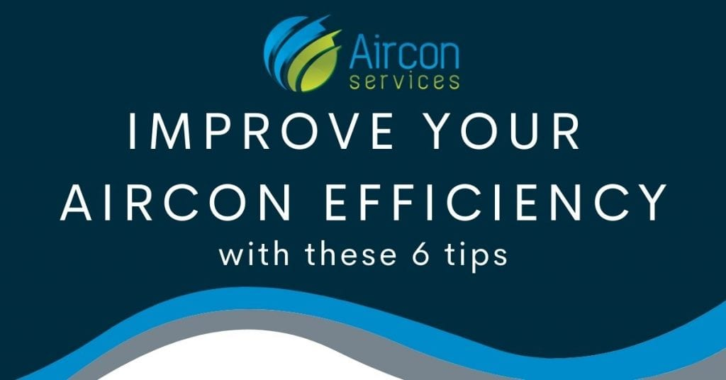 improve aircon efficiency